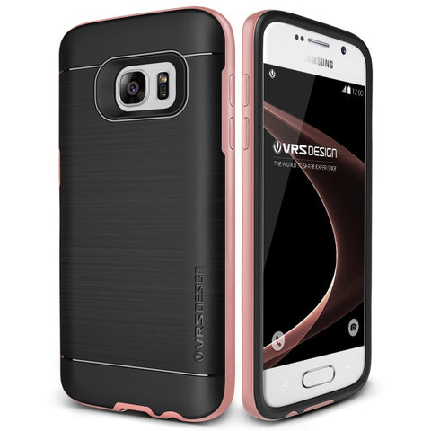 VRS Design [High Pro Shield Series] Samsung Galaxy S7 Case - Rose Gold - Main