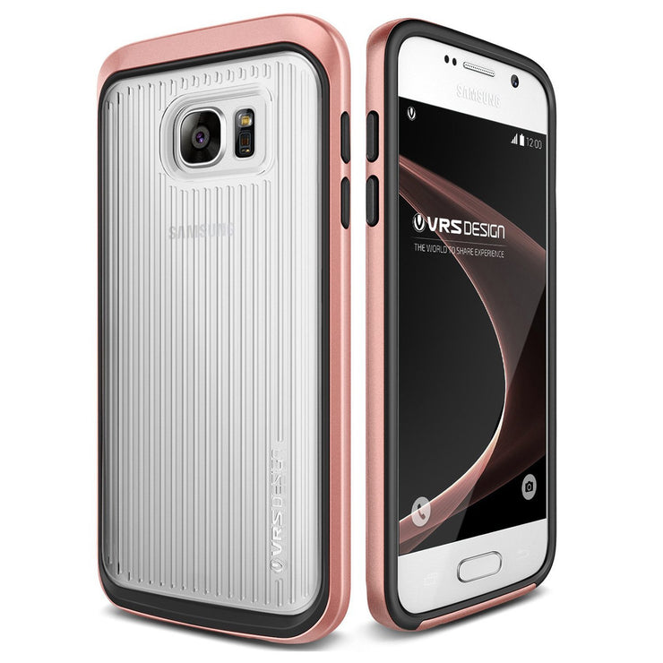 VRS Design [Triple Mixx Series] Samsung Galaxy S7 Case - Rose Gold