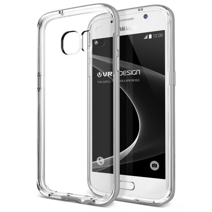 VRS Design | Crystal Bumper Case for Galaxy S7 - Satin Silver