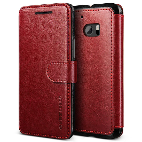 VRS Design [Layered Dandy Series] HTC 10 Case - Wine Red - Main