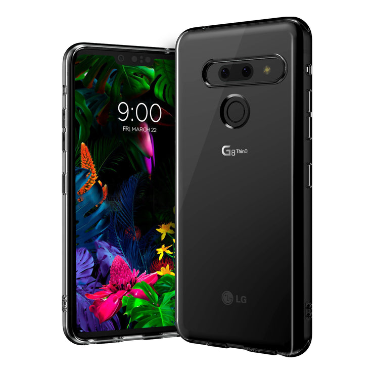 VRS Design | LG G8 Case Crystal Fit Series Clear Case - Clear