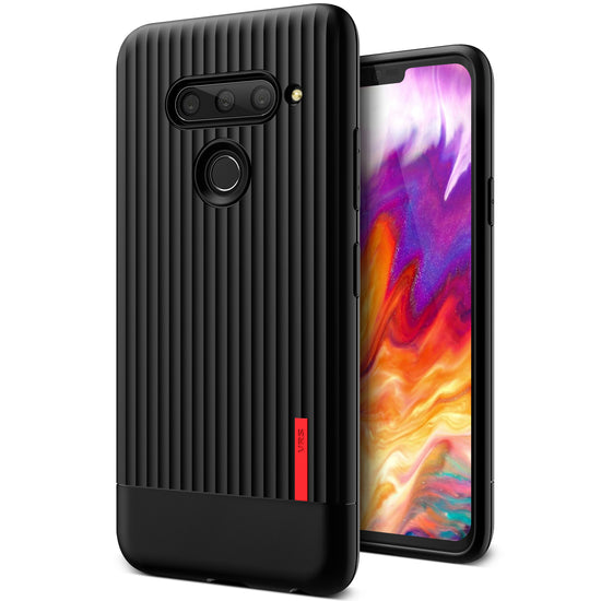 VRS Design | LG V40 ThinQ Case Single Fit Label - Black