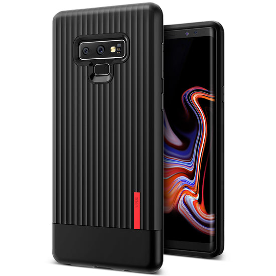 VRS Design | Single Fit Label Case for Galaxy Note 9 - Black