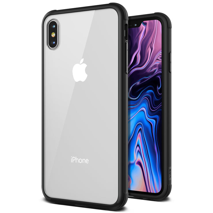 VRS Design | Crystal Chrome Series for iPhone Xs Max Case - Black