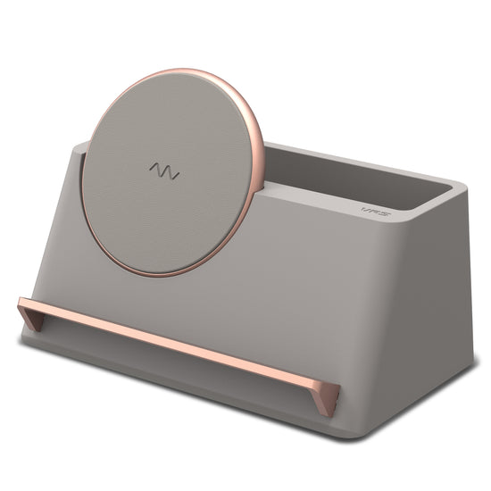 VRS Design | Accesories Wireless Charger Halo Box - Beige