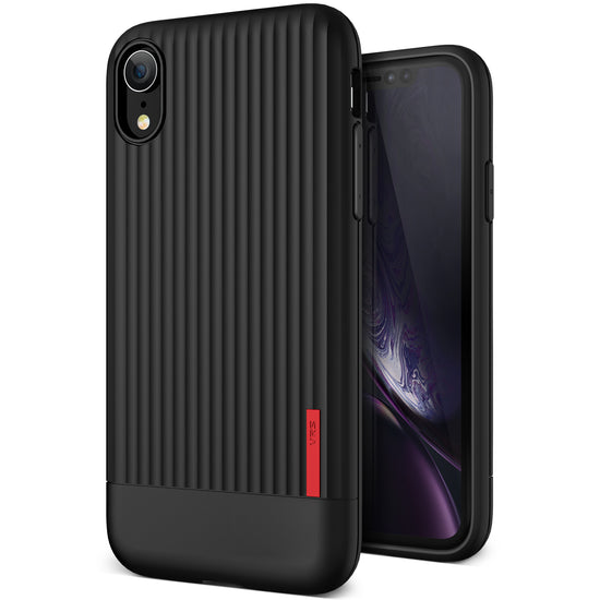VRS Design | Single Fit Label Series for iPhone XR - Black