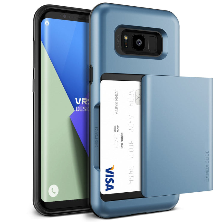 VRS Design | Damda Glide Case for Galaxy S8 - Blue Coral