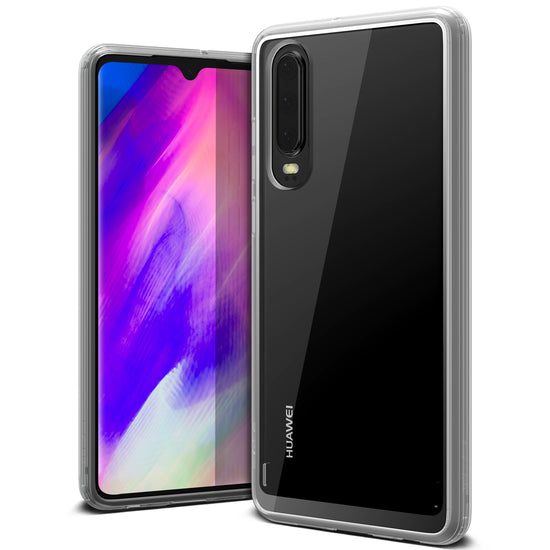 VRS Design | Huawei P30 Case Crystal Chrome - Clear