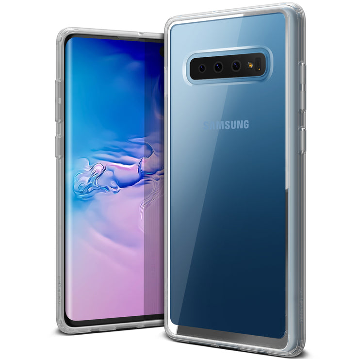 VRS Design | Galaxy S10 Plus Case Crystal Chrome Series - Clear