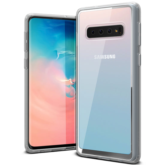 VRS Design | Galaxy S10 Case Crystal Chrome Series - Clear