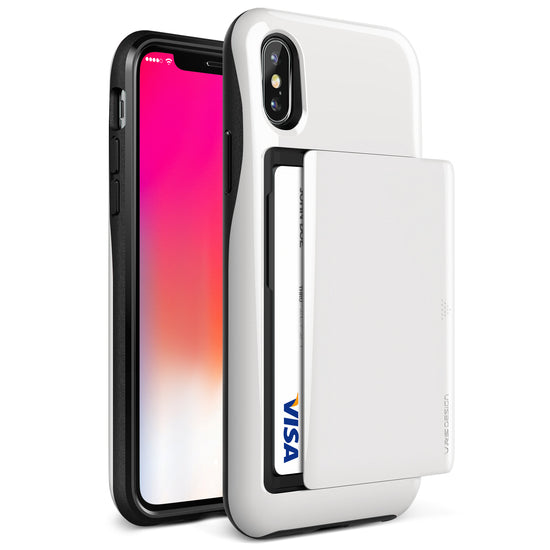 VRS Design | Damda Glide Case for iPhone X / XS - White