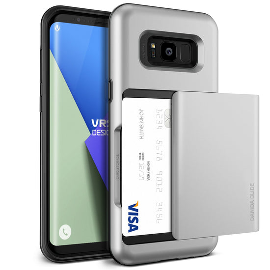 VRS Design | Damda Glide Case for Galaxy S8 Plus - Satin Silver