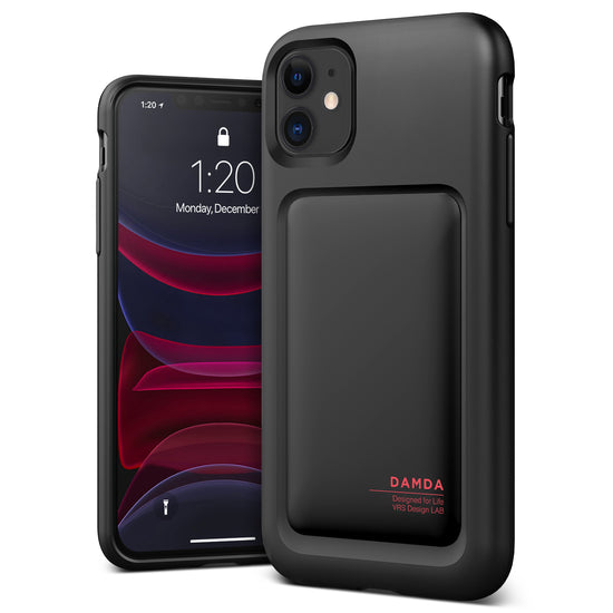 iPhone 11 Case Damda High Pro Shield Matte Black