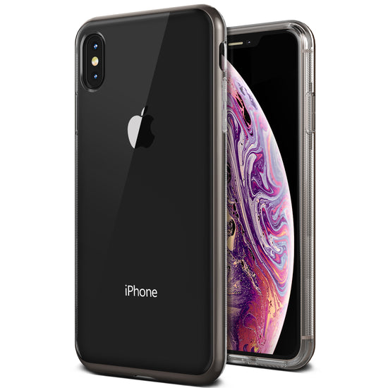 VRS Design | Crystal Bumper Series for iPhone Xs Max - Metal Black