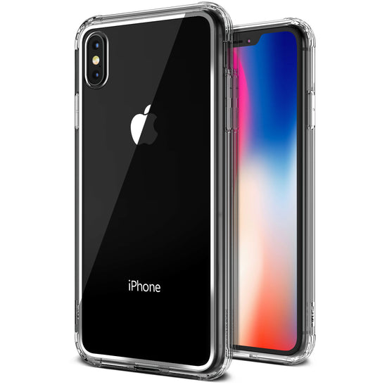 VRS Design | Crystal Chrome Case for iPhone X / XS - Clear