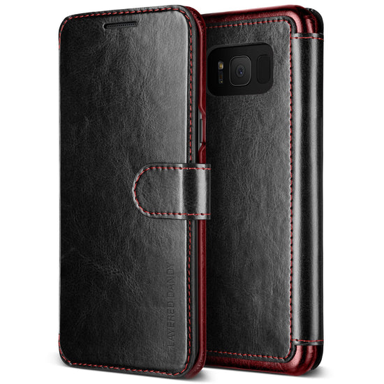 VRS Design | Layered Dandy Case for Galaxy S8 Plus - Black