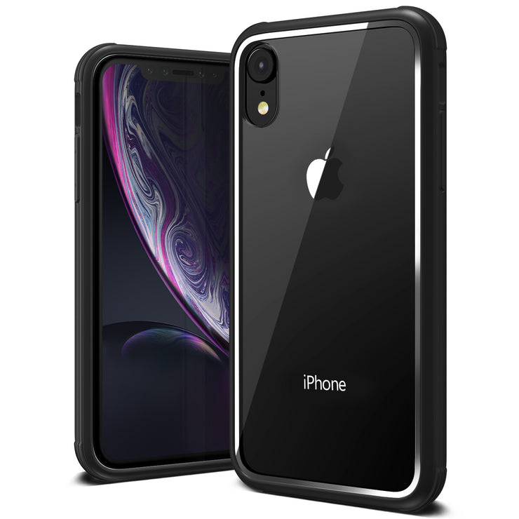 VRS Design | Crystal Chrome Series for iPhone XR Case - Black