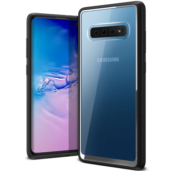 VRS Design | Galaxy S10 Plus Case Crystal Chrome Series - Black