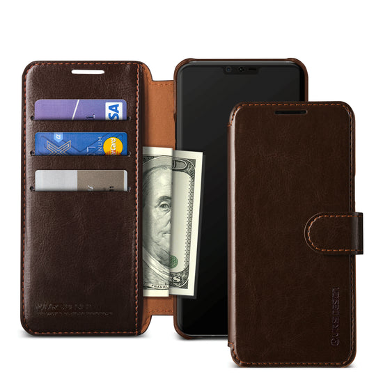 VRS Design Layered Dandy Series LG V40 ThinQ - Coffee Brown