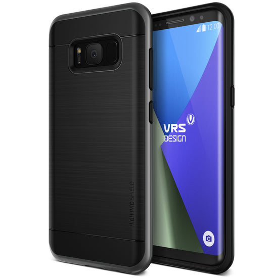 VRS Design | High Pro Shield Case for Galaxy S8 - Dark Silver
