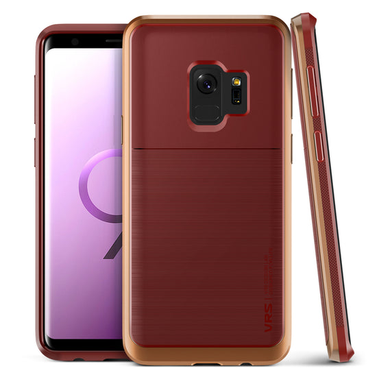 VRS Design | Galaxy S9 High Pro Shield Series - Red