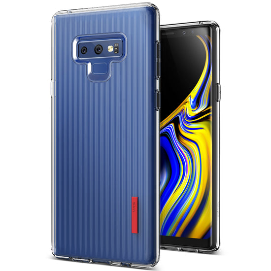 VRS Design | Crystal Fit Label Case for Galaxy Note 9 - Clear