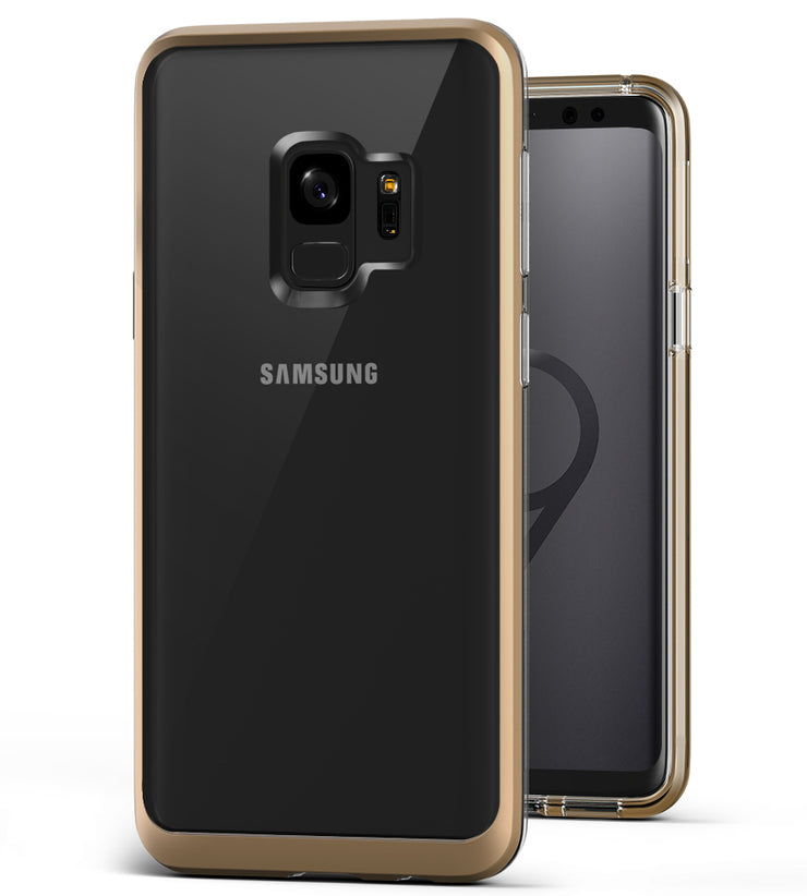 Galaxy S9 Case | VRS Design Crystal Bumper - Shine Gold