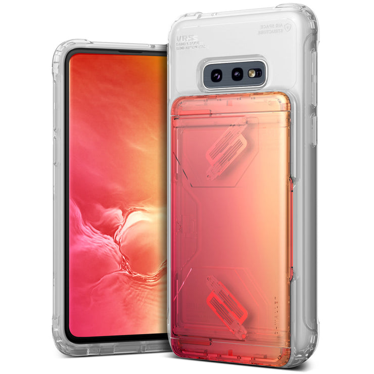 VRS Design | Galaxy S10e Case Damda Shield Clear Series - Yellow Peach
