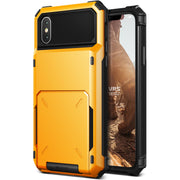 VRS Design | Damda Folder Case for iPhone X / XS - Volcano Yellow