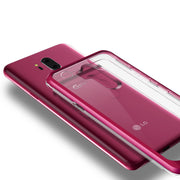 VRS Design | LG G7 Crystal Bumper Case - Rose