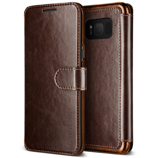 VRS Design | Layered Dandy Case for Galaxy S8 - Coffee Brown