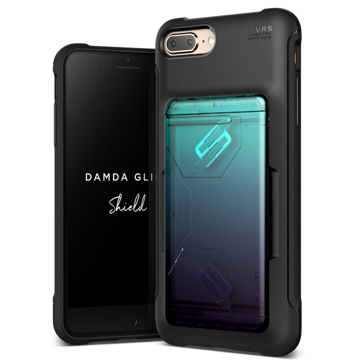VRS Design | Apple iPhone 8 Plus/7 Plus Case Damda Glide Shield series - Green Purple