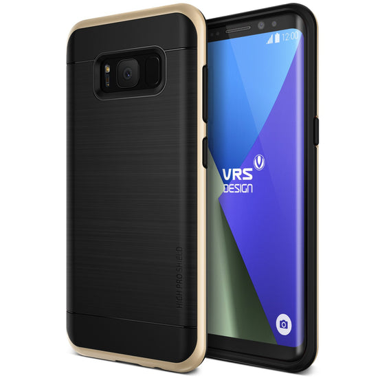 VRS Design | High Pro Shield Case for Galaxy S8 Plus - Shine Gold