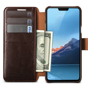 VRS Design | LG G7 Layered Dandy Case - Coffee Brown
