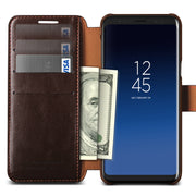 VRS Design | Galaxy S9 Case Layered Dandy Series - Coffee Brown