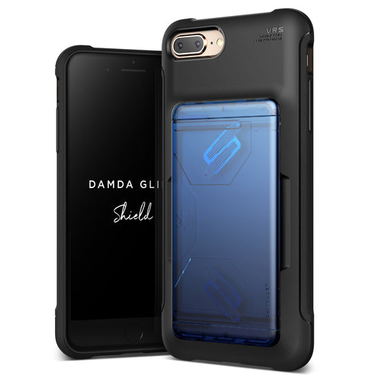 VRS Design | Apple iPhone 8 Plus/7 Plus Case Damda Glide Shield series - Blue Black