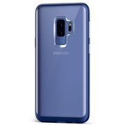 Galaxy S9 Plus Case | VRS Design Crystal Bumper - Deep Sea Blue