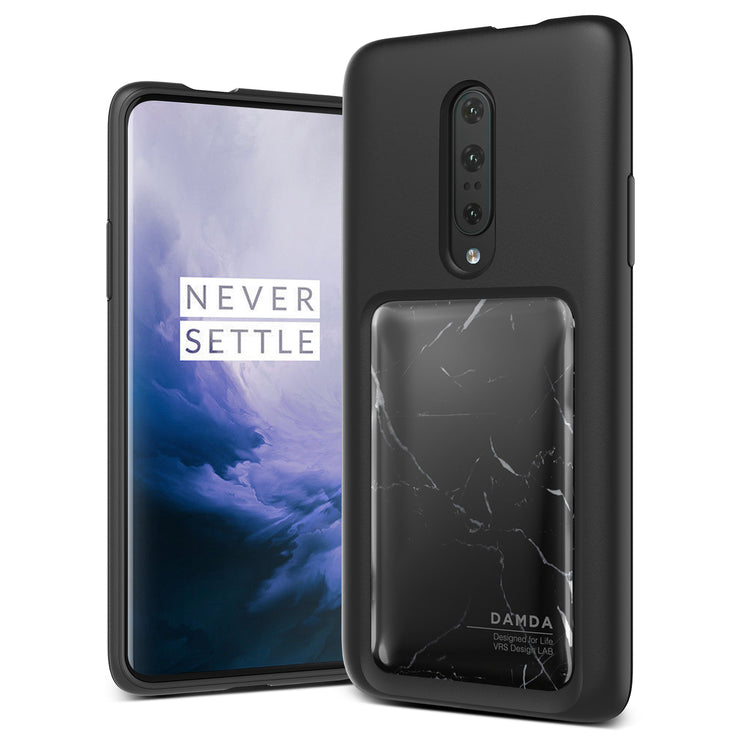 VRS Design | OnePlus 7 Pro Case Damda High Pro Shield Series - Black Marble