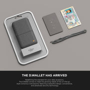 Damda Wallet Case Luxury Folder (Clear Back)