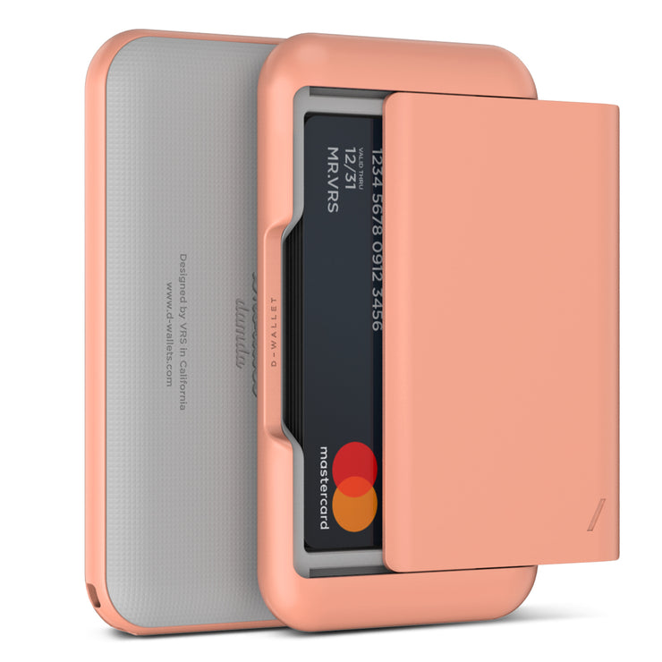 VRS Design | Damda Wallet Glide Plain Solid - Peach