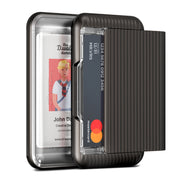 VRS Design | Damda Wallet Glide Clear - Metal Black