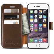 VRS Design [Layered Dandy Series] Apple iPhone 6/6s Case - Coffee Brown