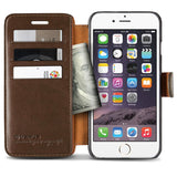 VRS Design [Layered Dandy Series] Apple iPhone 6/6s Case - Coffee brown - Side