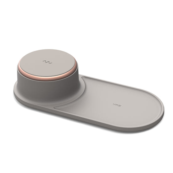VRS Design | Accesories Wireless Charger Halo Tray - Beige