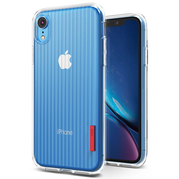 buy popular bcde4 254e4 iPhone XR Case Crystal Fit Label Series