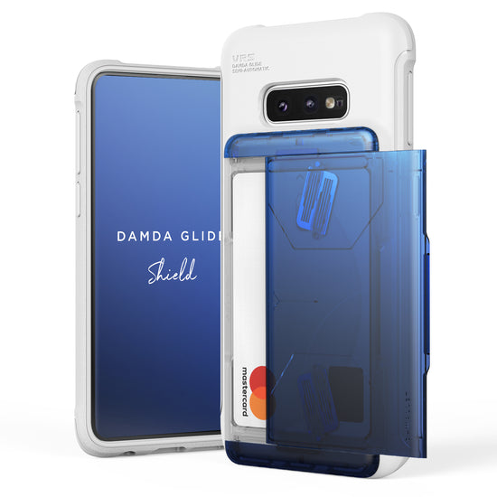 VRS Design | Galaxy S10e Case Damda Shield White Series - Blue Black