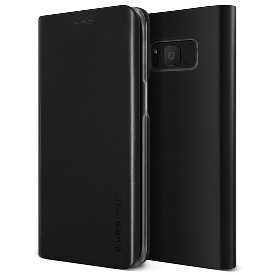 VRS Design | Native S Dairy Case for Galaxy S8 - Black