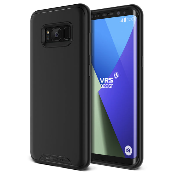 VRS Design [Single Fit Series] Samsung Galaxy S8 Case - Phantom Black - Main