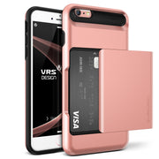 VRS Design [Damda Glide Series] Apple iPhone 6/6s Plus Case - Rose Gold - Main