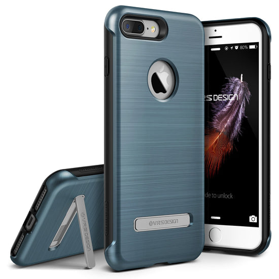 VRS Design [Duo Guard Series] Apple iPhone 7 Plus Case - Steel Blue - Main